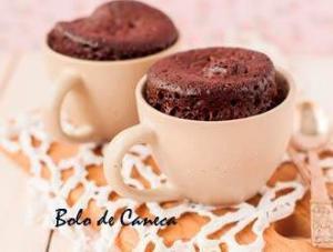 receitas para crianças fazerem, bolo de caneca