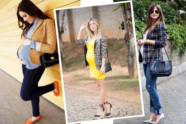 calça skiny - como montar um look outono inverno para gestante