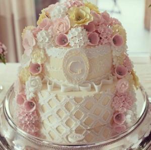 bolo de batizado mais lindo do mundo flores roassa