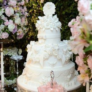 bolo de batizado mais lindo do mundo 2 andares