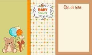 convite cha de bebe menina 6