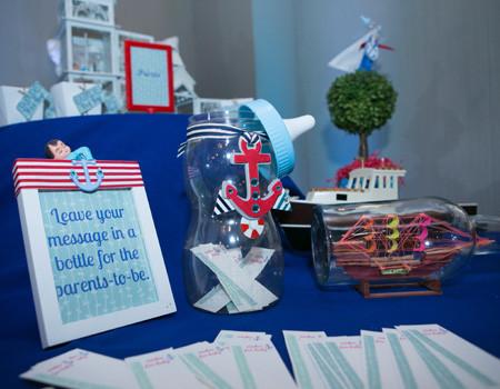 chá de bebê marinheiro modelo 18