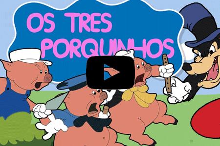 desenhos infantis os tres porquinhos youtube