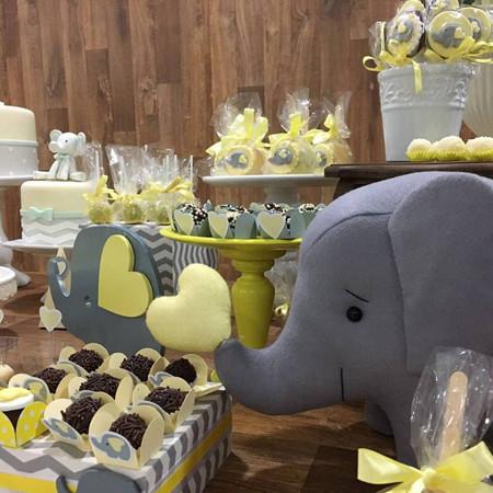 chá de bebê elefantinho