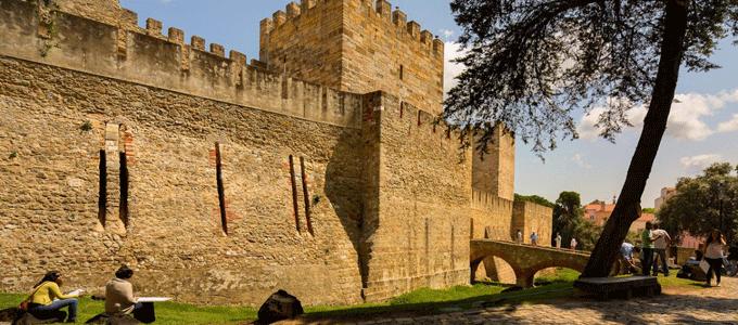 castelo de sao jorge - roteiro lisboa