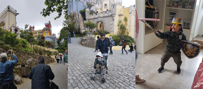 lisboa com crianças - sintra castelo dos mouros