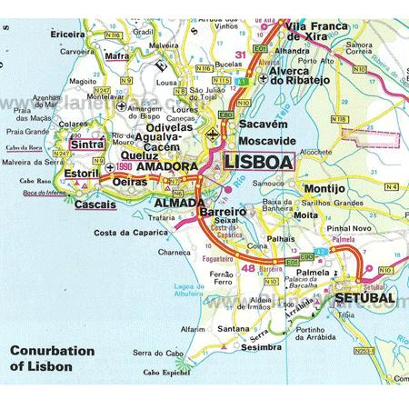 mapa de lisboa - lisboa com crianças