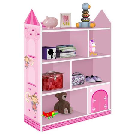 nicho quarto de bebê menina castelo
